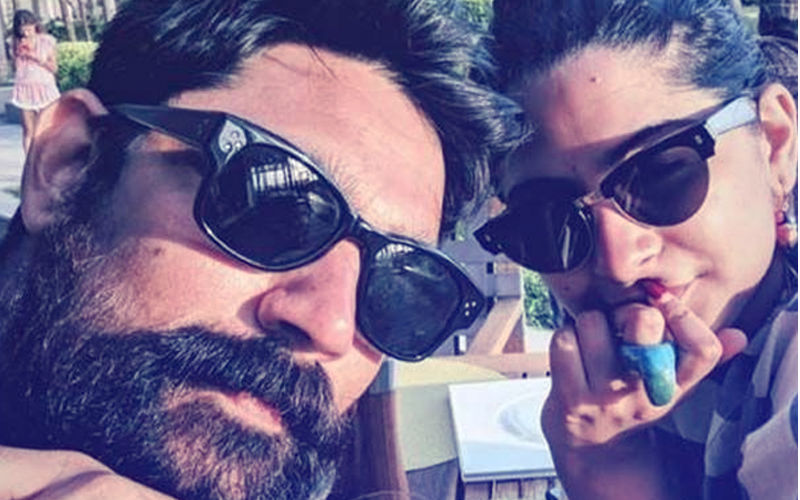 Rhea Kapoor & Beau Karan Boolani Are Living It Up At Maldives