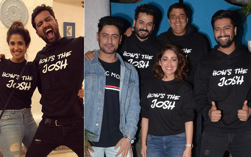 Vicky Kaushal With Girlfriend Harleen, Yami Gautam, Mohit Raina And Others Celebrated The Success Of Uri