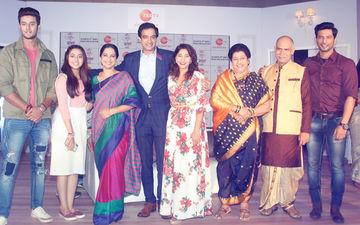 Sehban Azim And Amrapali Gupta At The Launch Of Tujhse Hai Raabta