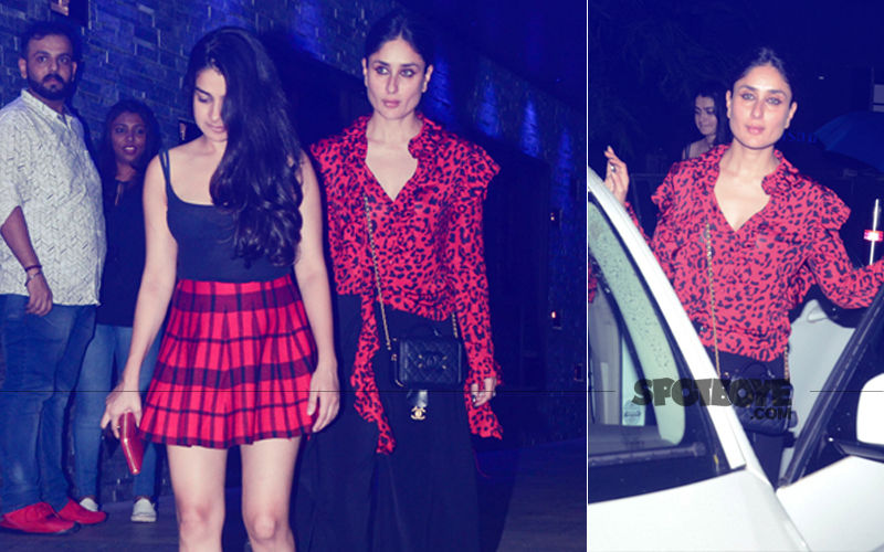 Kareena Kapoor Khan Looks Smoking Hot As She Parties Hard With BFFs