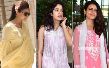Alia Bhatt, Janhvi Kapoor, Fatima Sana Shaikh Are A Delight In Ethnic Outfits