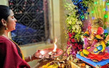Ganesh Chaturthi 2019: Mitali Mayekar Bids Adieu To Her Beloved Ganpati Bappa