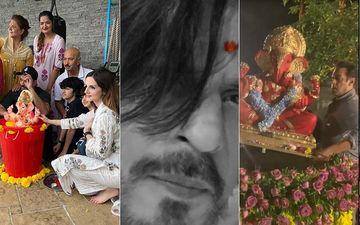 Ganpati Visarjan 2020: Salman Khan And Iulia Vantur, Shah Rukh Khan And Wife Gauri, Hrithik Roshan And Sussanne Bid Goodbye To Lord Ganesha
