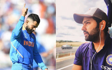 Virat Kolhi Busts Some Dance Moves On Stage, Posts A Cryptic Message Alongwith. Is It For Rohit Sharma?