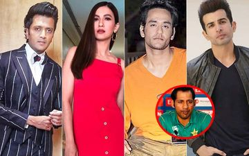 Gauahar Khan, Riteish Deshmukh, Vikas Gupta, Jay Bhanushali Blast Pakistani Fan For Harassing Pak Team Captain, Sarfaraz Ahmed
