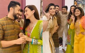 Gauahar Khan and Fiance Zaid Darbar's Brother And Sisters Welcome 'Bhabhi' Into Fam; Soon-To-Married Couple Gets A Cute Nickname
