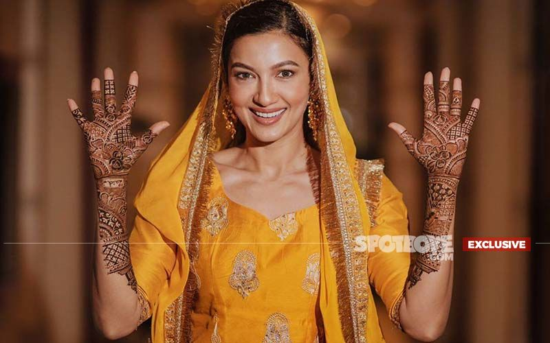 Gauahar Khan: I Got To Wear My Own Wedding Mehendi In The Shoot Of 14 Phere- EXCLUSIVE VIDEO