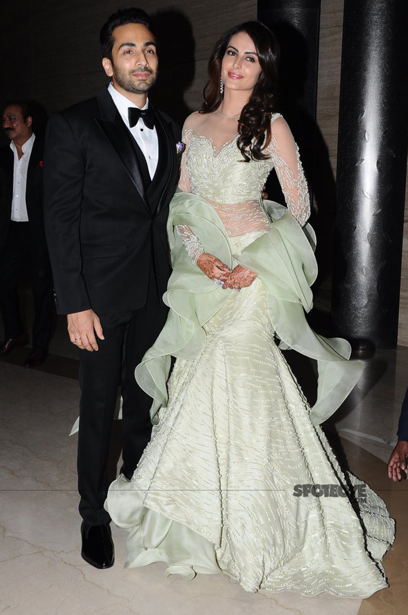 gaurav gupta with mandana karimi post wedding in the month of march