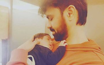 Gaurav Chopraa Cuddles His Baby Boy As They Reunite After 2 Weeks; Father-Son's Snaps Are Too Cute For Words