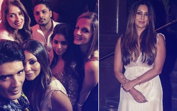 INSIDE PICS: Suhana Khan, Malaika Arora, Sussanne Khan's Crazy Fun At Gauri Khan's Halloween Party