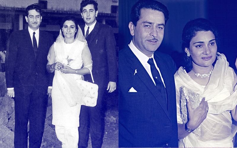 Krishna Raj Kapoor Death: 9 Unmissable Vintage Pics That Sum Up Her Romance With Raj Kapoor