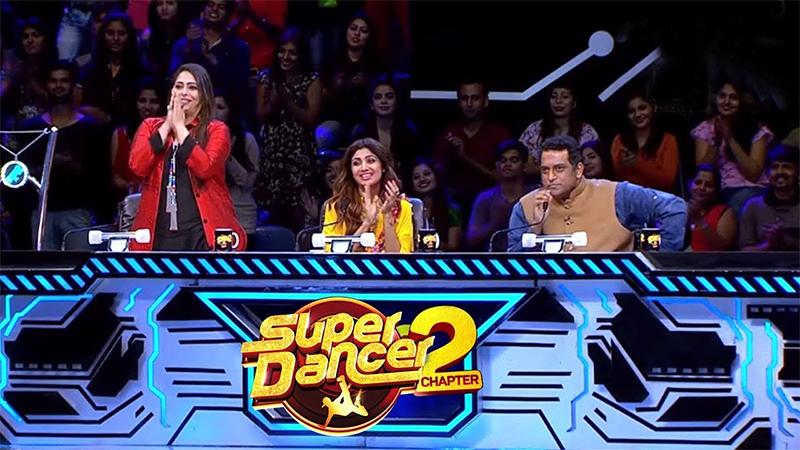 geeta shilpa shett and anurag basu on super dancer 2