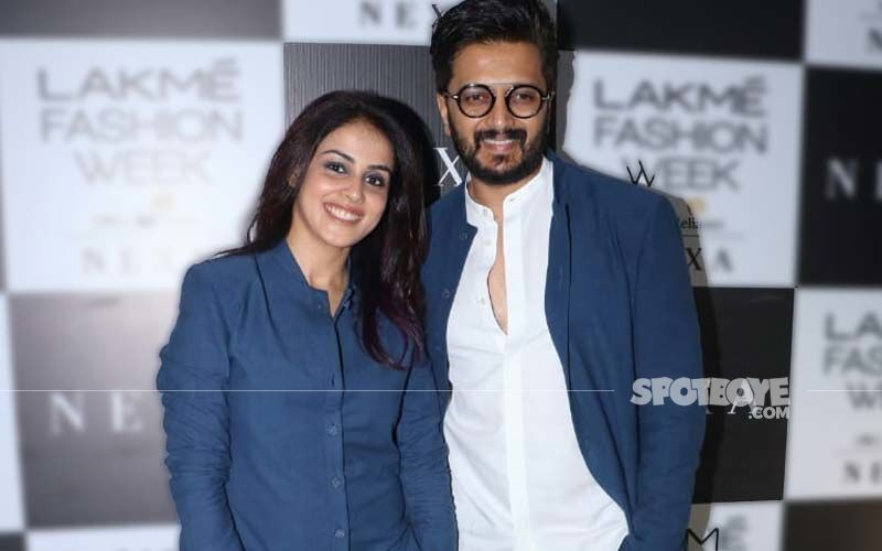 Riteish Deshmukh And Genelia D'Souza REACT To Viral Video Of The Actor Kissing Preity Zinta's Hand At An Award Function