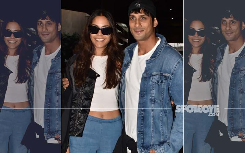 Newlyweds Prateik Babbar And Sanya Sagar Are Back In The City