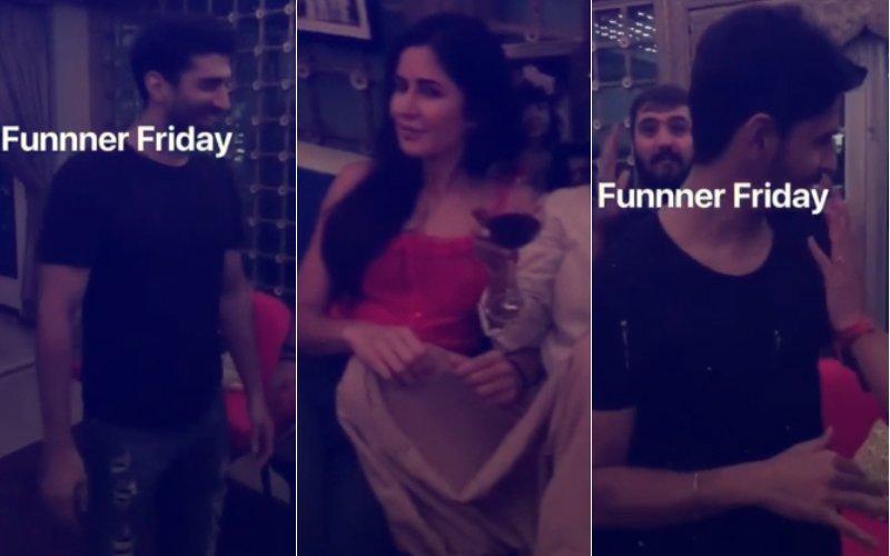 Inside Fun At Bachchans' House: Katrina Kaif, Sidharth Malhotra & Aditya Roy Kapur's Midnight Party