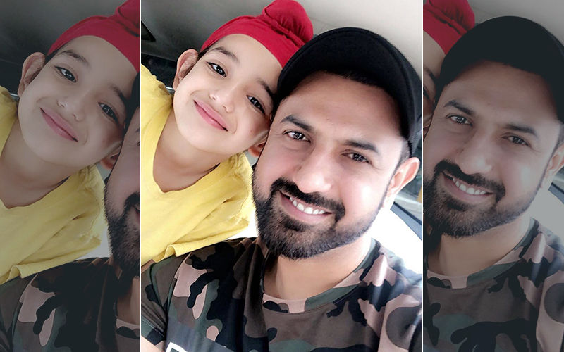 Gippy Grewal's Latest Pic With Son Shinda Is Too Cute To Miss!