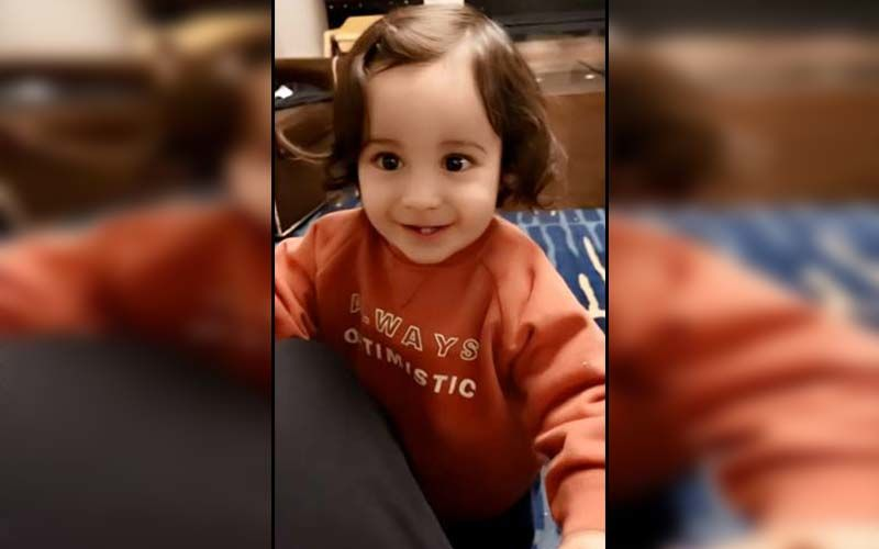 Gippy Grewal's Son Gurbaaz Grewal Is Winning Millions Of Hearts With The Cutest Smile; Don't Miss The Pic