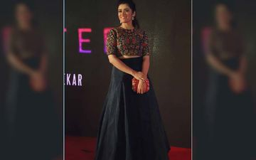 Girija Oak Looks Ravishing In A Throwback Picture From The Teaser Launch Of Marathi Short Film Quarter