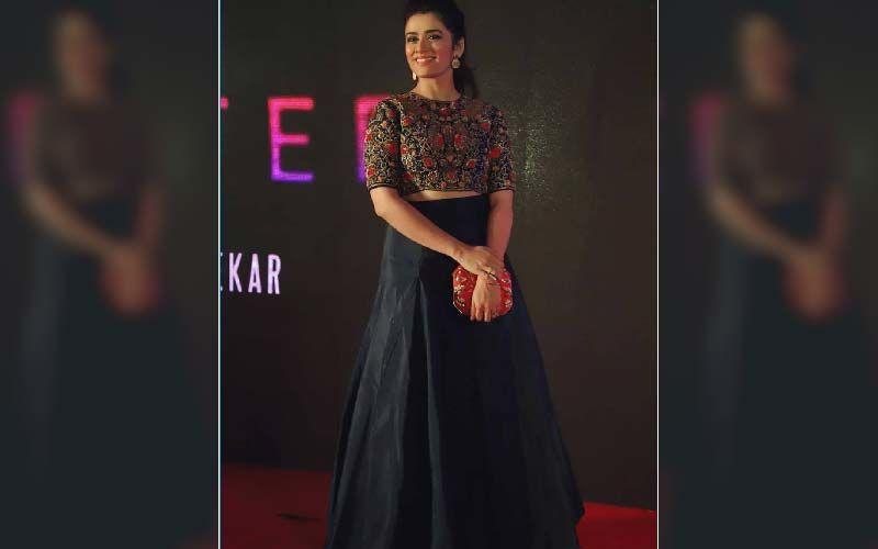 Girija Oak Looks Ravishing In A Throwback Picture From The Teaser Launch Of Marathi Short Film Quarter