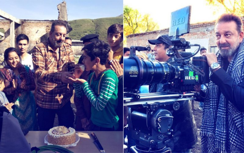 Sanjay Dutt Shoots With Adorable Little Kids In Kyrgyztan, View Pics