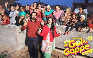 Gol Gappe: Binnu Dhillon BTS Picture From The Set Will Leave You Laughing In Splits
