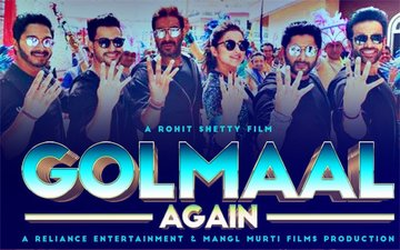 Golmaal Again Box-Office Collection, Day 2: Ajay Devgn & Parineeti Chopra Starrer On a Record-Breaking Spree, Collects Rs 28.50 Crore