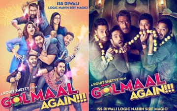 Golmaal Again Posters: Ajay Devgn & Rohit Shetty Promise A Lot Of Fun