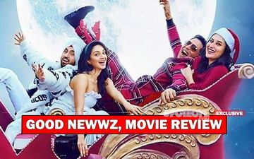 Good Newwz, Movie Review: Bold, Told, Sold- This Akshay-Kareena-Kiara-Diljit Sperm Commotion Will Make You ROFL