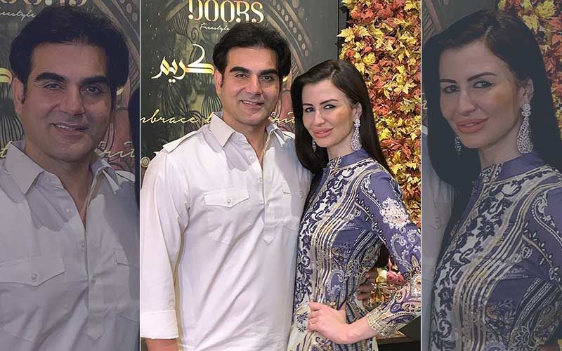 """Arbaaz Khan's Girlfriend Giorgia Andriani To Debut In The Web Series Karoline Kamakshi; Says, """"Knowing Him Helps Me Get A Contact"""""""