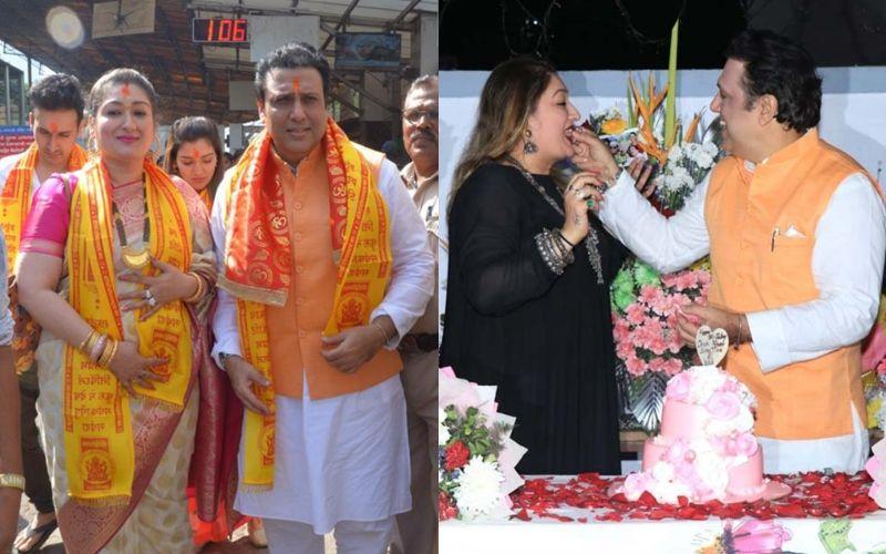 सिद्धिविनायक मंदिर के दर्शन कर गोविंदा ने परिवार के साथ मनाया जन्मदिन, देखें तस्वीरें