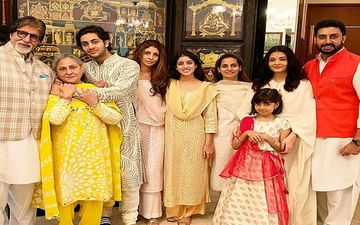 Amitabh Bachchan's Pictures With Grandchildren Navya, Agastya And Aaradhya Are A Proof That He Is The Coolest Grand Dad Ever