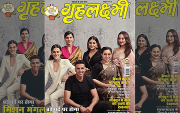 "Akshay Kumar, Vidya Balan, Taapsee Pannu, Sonakshi Sinha- Mission Mangal's ""Home Science Experts"" Grace The Cover Of A Hindi Magazine"
