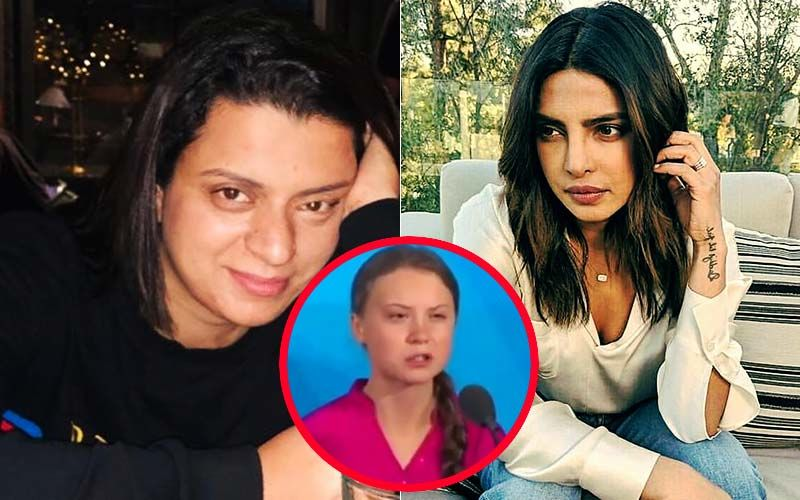 Kangana Ranaut's Sister Rangoli Chandel Takes A Dig At Priyanka Chopra For Her Tweet Supporting Climate Activist Greta Thunberg