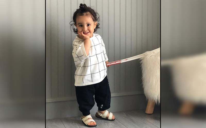 Gurbaaj Grewal Takes Over The Internet With His Cute Model Poses; Papa Gippy Shares A Video On Insta