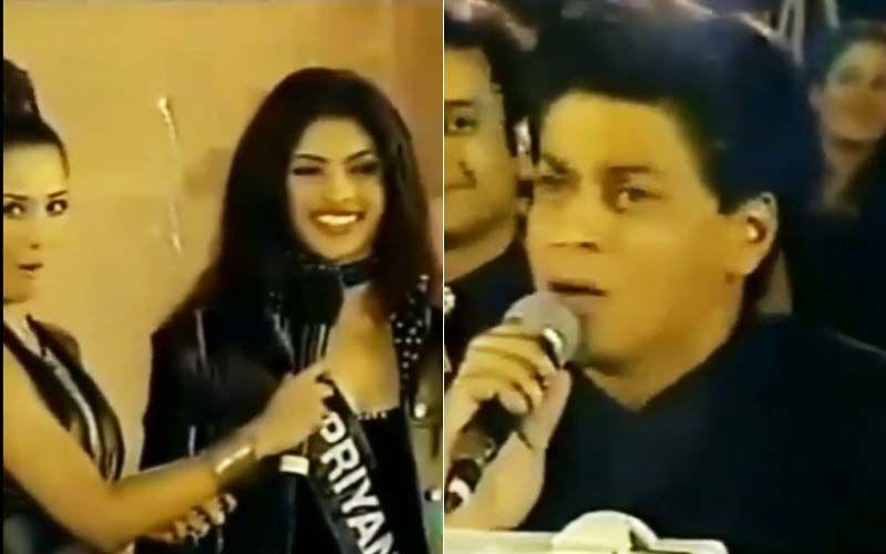 When Shah Rukh Khan Asked Priyanka Chopra If She Would Marry Him, Or Choose Someone Else; Her Answer Made Malaika Arora Go 'Wow'-WATCH