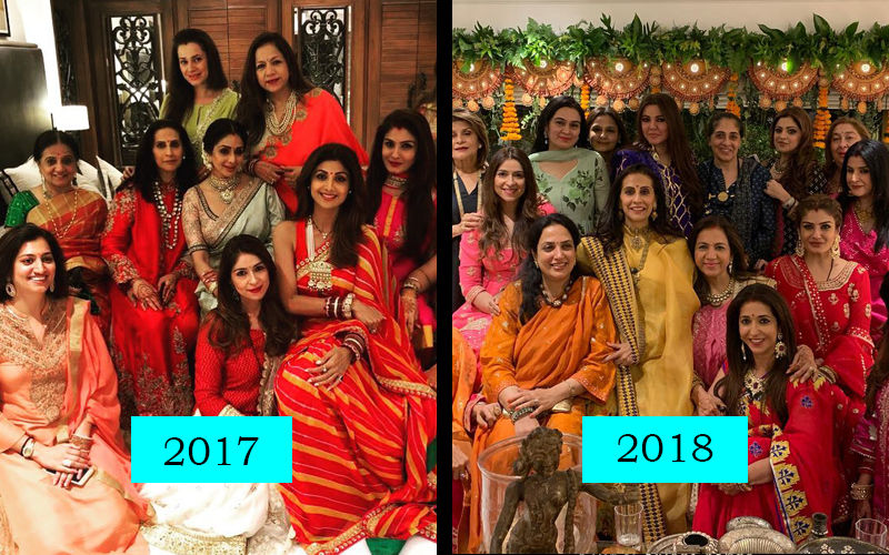 We Miss Sridevi In These Karwa Chauth Pictures From Sunita Kapoor's Party