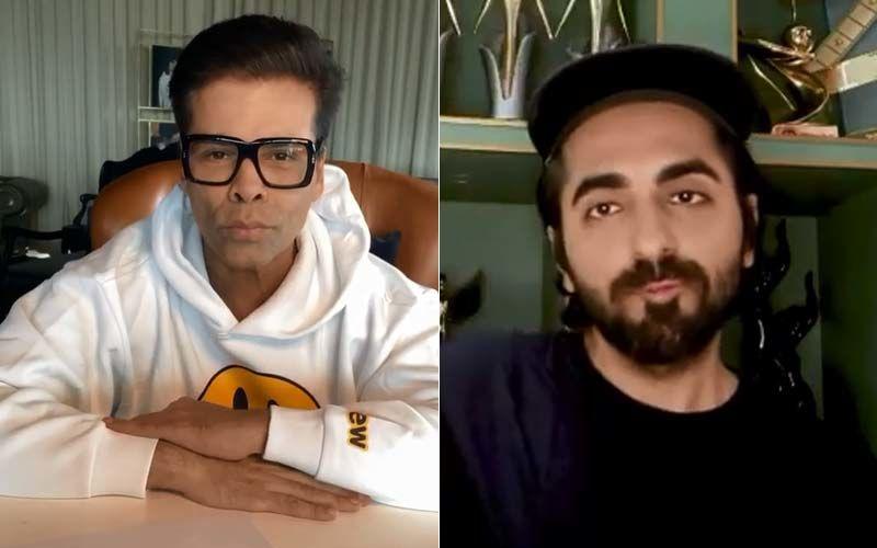 Gulabo Sitabo: Karan Johar's Take On Ayushmann Khurrana's Tongue Twister #GiboSibo, Challenge Will Crack You Up – Watch VIDEO