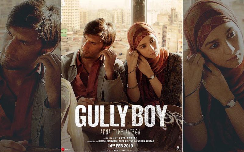 रणवीर सिंह और आलिया भट्ट की मोस्ट अवेटेड फिल्म गल्ली बॉय के 3 पोस्टर हुए रिलीज़