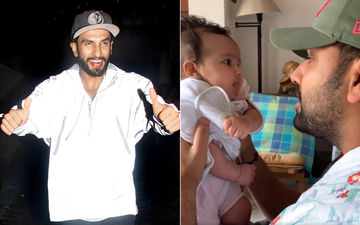 Ranveer Singh Thinks 'The Best Thing On The Internet' Is Rohit Sharma's Asli Hip Hop Rap For His Daughter