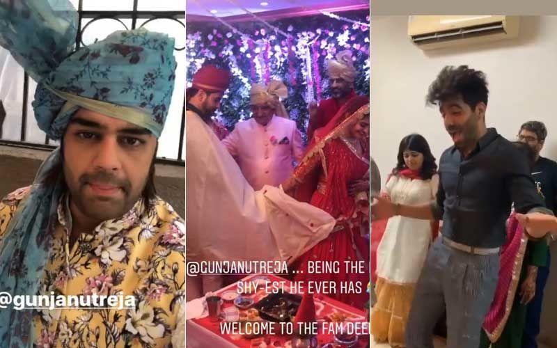Madhubala Actor Gunjan Utreja Ties Knot Secretly; Aparshakti Khurana, Maniesh Paul And Others Turn Baraatis
