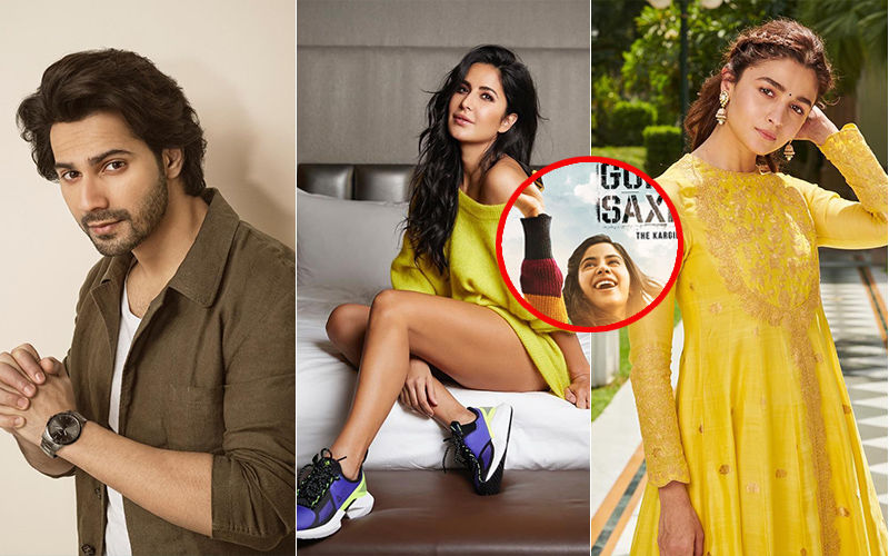 Gunjan Saxena: The Kargil Girl; Varun Dhawan, Katrina Kaif, Alia Bhatt Blown By Janvhi Kapoor's First Look