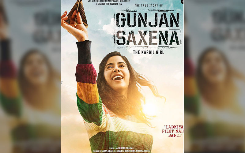 The Kargil Girl First Look: Janhvi Kapoor Impresses As Young Pilot Gunjan Saxena