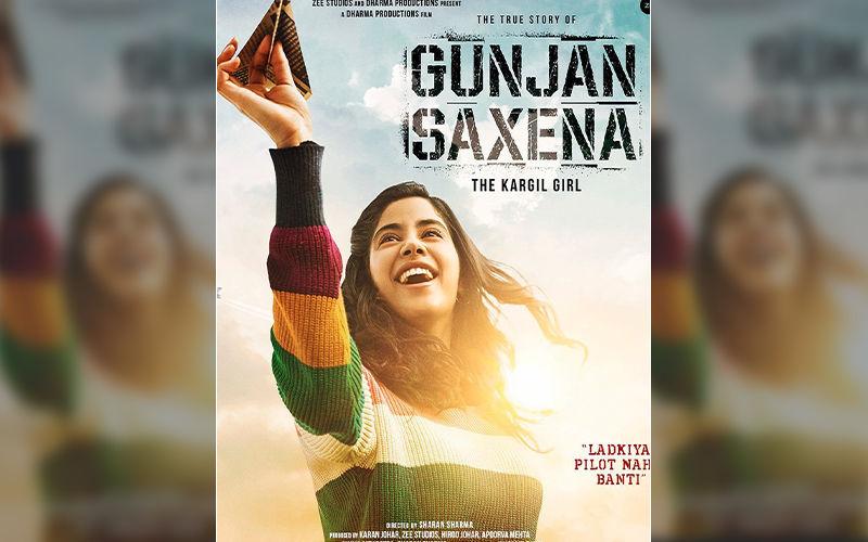 The Kargil Girl First Look Janhvi Kapoor Impresses As Young Pilot Gunjan Saxena