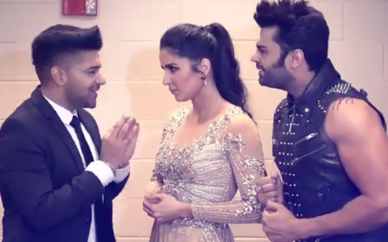 Katrina Kaif Is Just Not Getting 'This'. Maniesh Paul & Guru Randhawa Break Their Heads Over It...