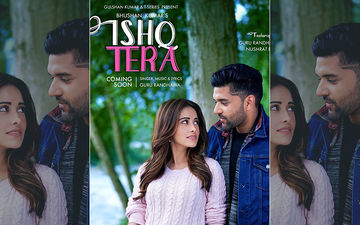 Guru Randhawa Shares Poster Of His Upcoming Song 'Ishq Tera' Featuring Nushrat Bharucha On His B'Day