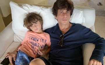 Happy Birthday Shah Rukh Khan: 7 Pictures Of SRK With AbRam, Aryan And Suhana Khan That Prove He Is A Doting Father