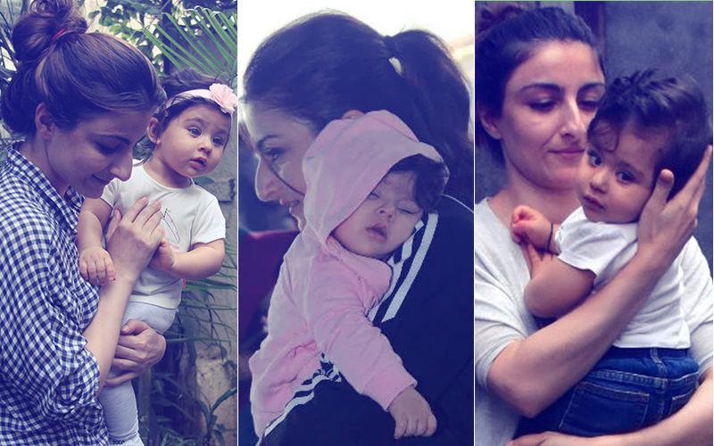 Happy Birthday Soha Ali Khan: 7 Pics Of The Birthday Girl With Her Little Munchkin Inaaya