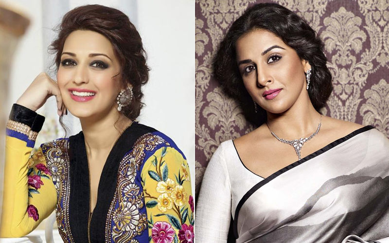 Happy Birthday Vidya Balan And Sonali Bendre: Resplendent Pictures Of The Two Ladies
