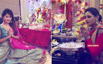 Happy Ganesh Chaturthi: रश्मि देसाई, देवोलिना भट्टाचार्जी और कांची सिंह ने भी अपने घर बाप्पा का किया स्वागत