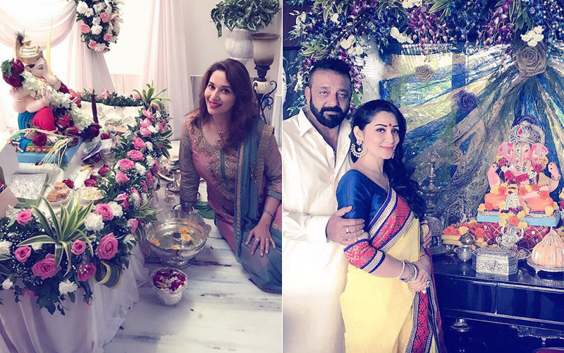 Happy Ganesh Chaturthi: Candid Clicks Of Celebrities With Their Ganpatis